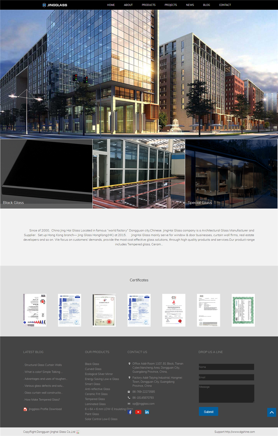 Building glass Company, Architectural glass China.png